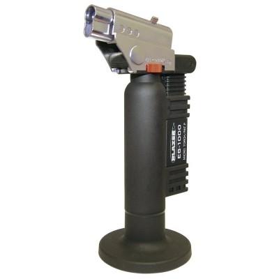 Blazer ES1000CR Spitfire Butane Refillable Torch, Black