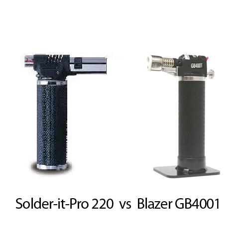 Solder it Pro 220 vs Blazer GB4001